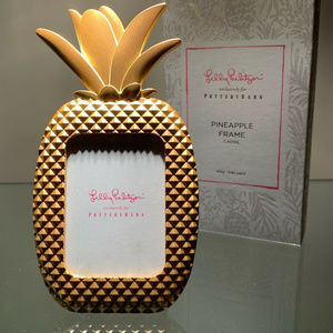 NEW IN BOX LILLY PULITZER  PINEAPPLE FRAME